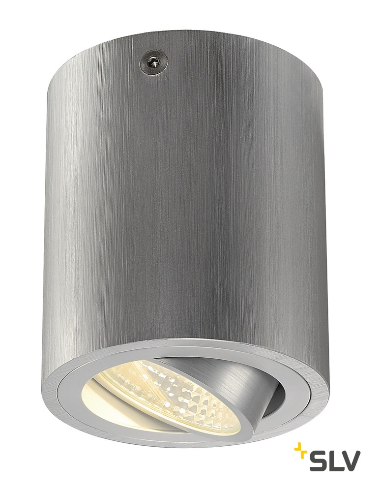 1 Stk TRILEDO ROUND CL, alu-brushed, LED, 6W, 38°, 3000K LI113936--