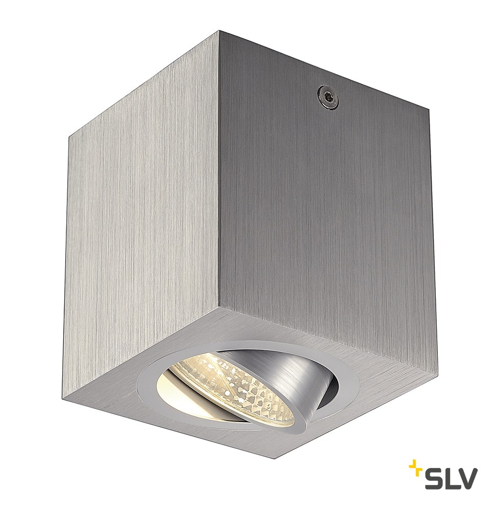 1 Stk TRILEDO SQUARE CL, alu-brushed, LED, 6W, 38°, 3000K LI113946--