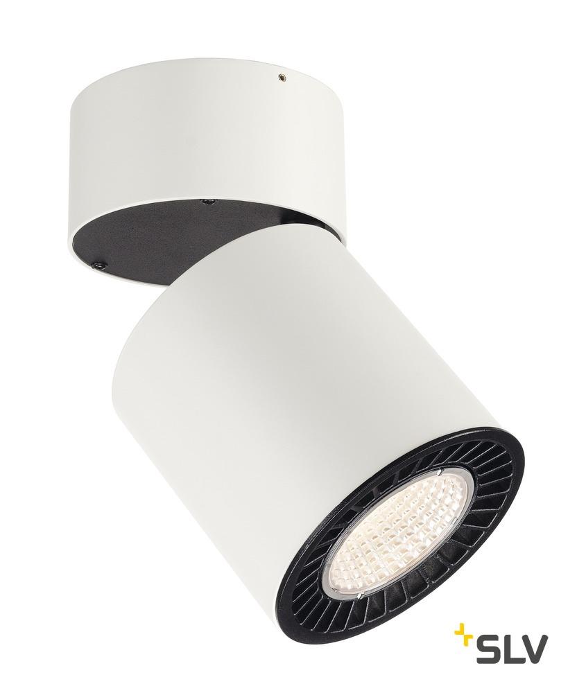 1 Stk SUPROS CL, rund, weiss, 2100lm, 3000K SLM LED, 60° LI114131--