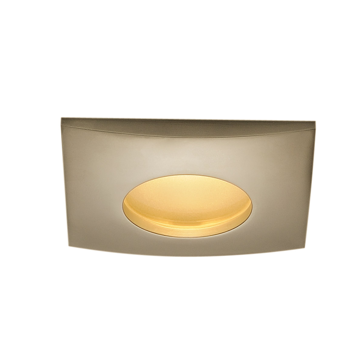 1 Stk OUT 65 LED DL SQUARE Set, 9W 3000K 38°, inkl. Treiber, titan LI114477--