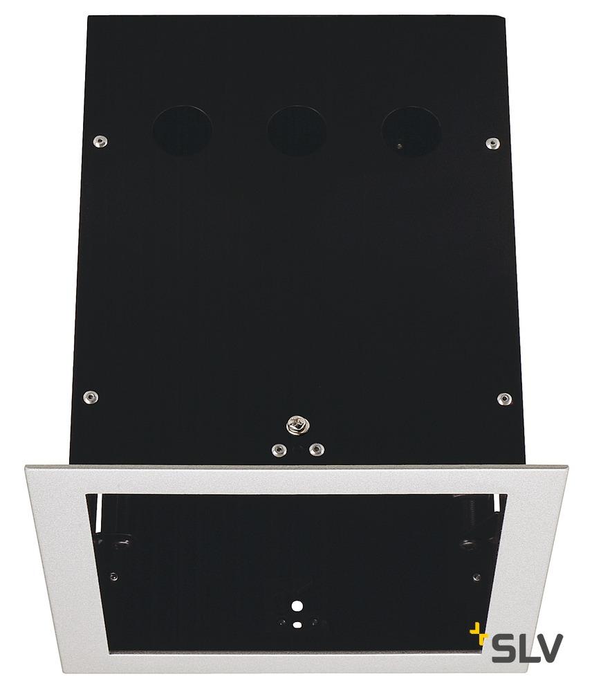 1 Stk AIXLIGHT PRO I FRAME Einbaugehäuse, silbergrau/schwarz LI115104--