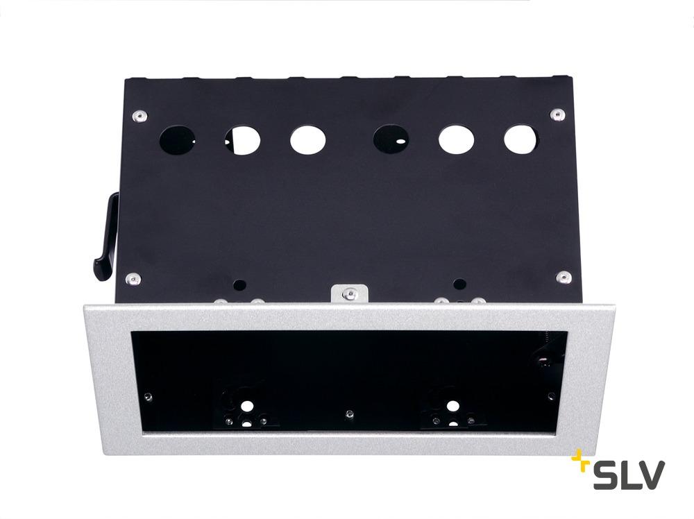 1 Stk AIXLIGHT PRO 50 II FRAME Einbaugehäuse, silbergrau/schwarz LI115314--