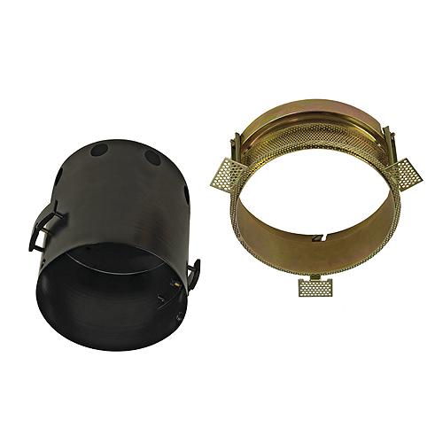 1 Stk AIXLIGHT PRO I FRAMELESS ROUND Einbaugehäuse, stahl, schwarz LI115674--