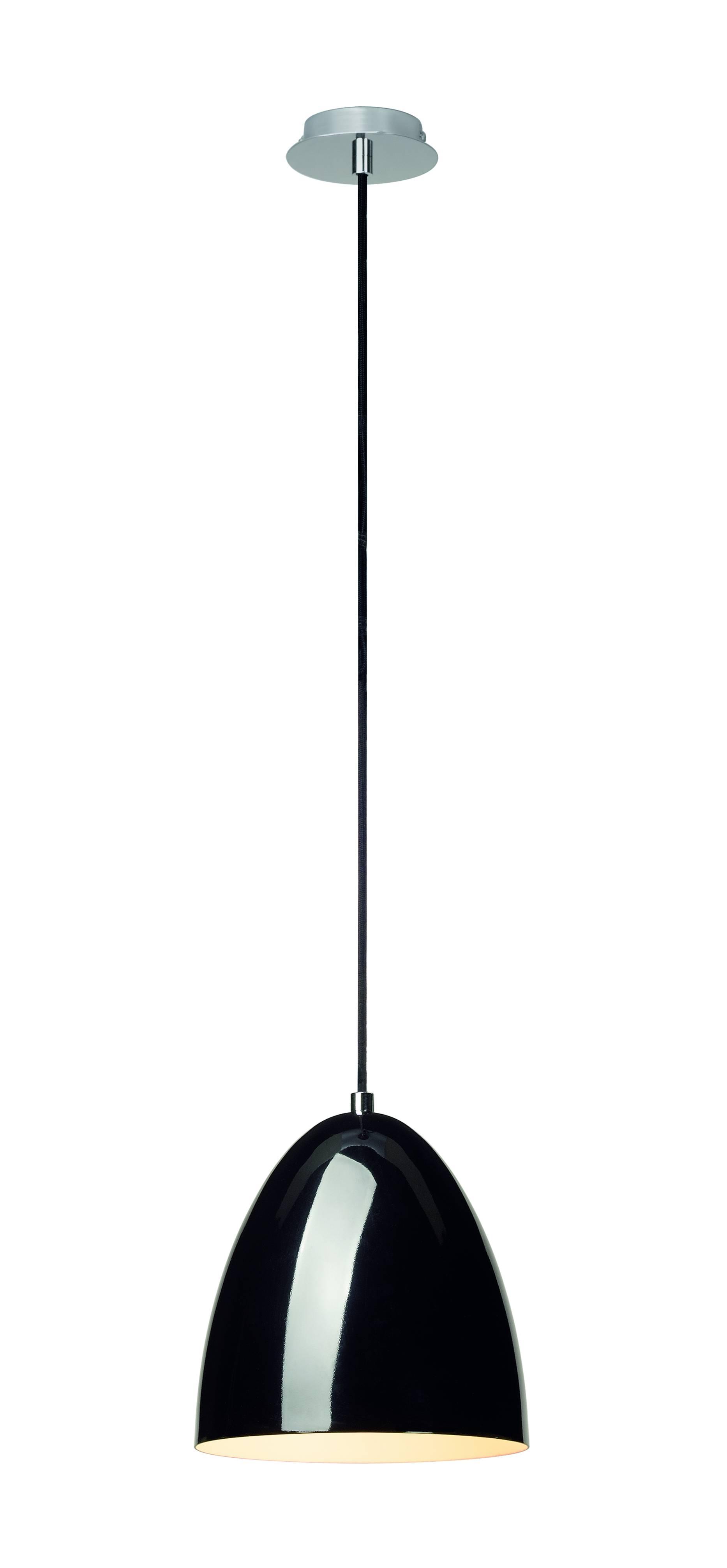 1 Stk PARACONE20Pendelleuchte,E27, max. 60W, rund,schwarz LI133000--