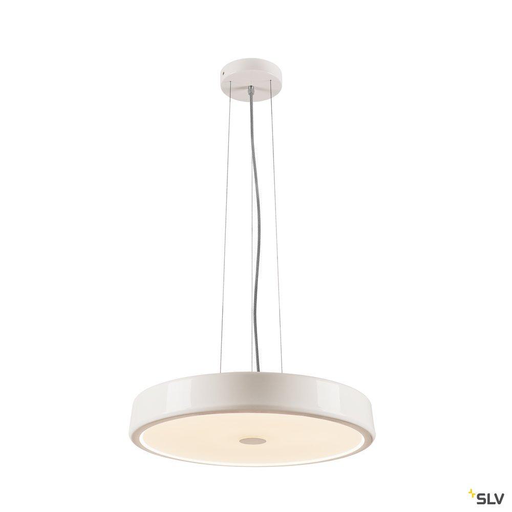 1 Stk SPEHRA, Pendelleuchte, LED, 2700K, rund, weiß, Ø 45cm LI133341--