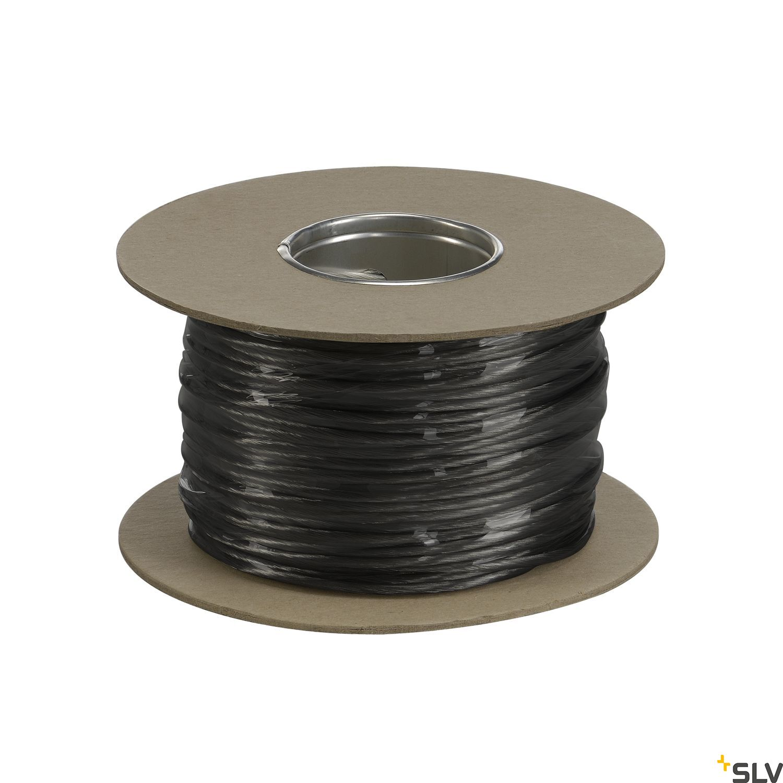 1 Stk NIEDERVOLT-SEIL, für TENSEO, schwarz, 4mm², 100m LI139040--