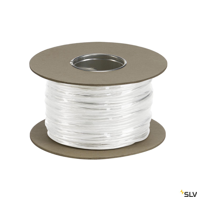 1 Stk NIEDERVOLT-SEIL, für TENSEO, weiß, 4mm², 100m LI139041--