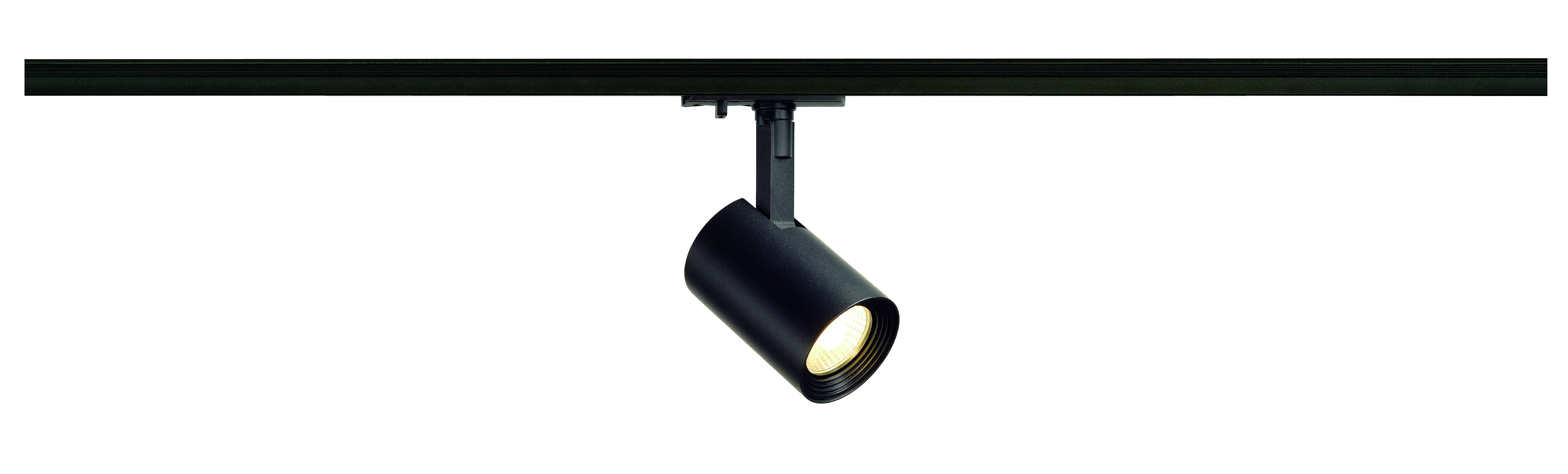 1 Stk Debasto LEDSpot,8W, 3000K, Ra=80, 360lm, rund, schwarz LI143570--