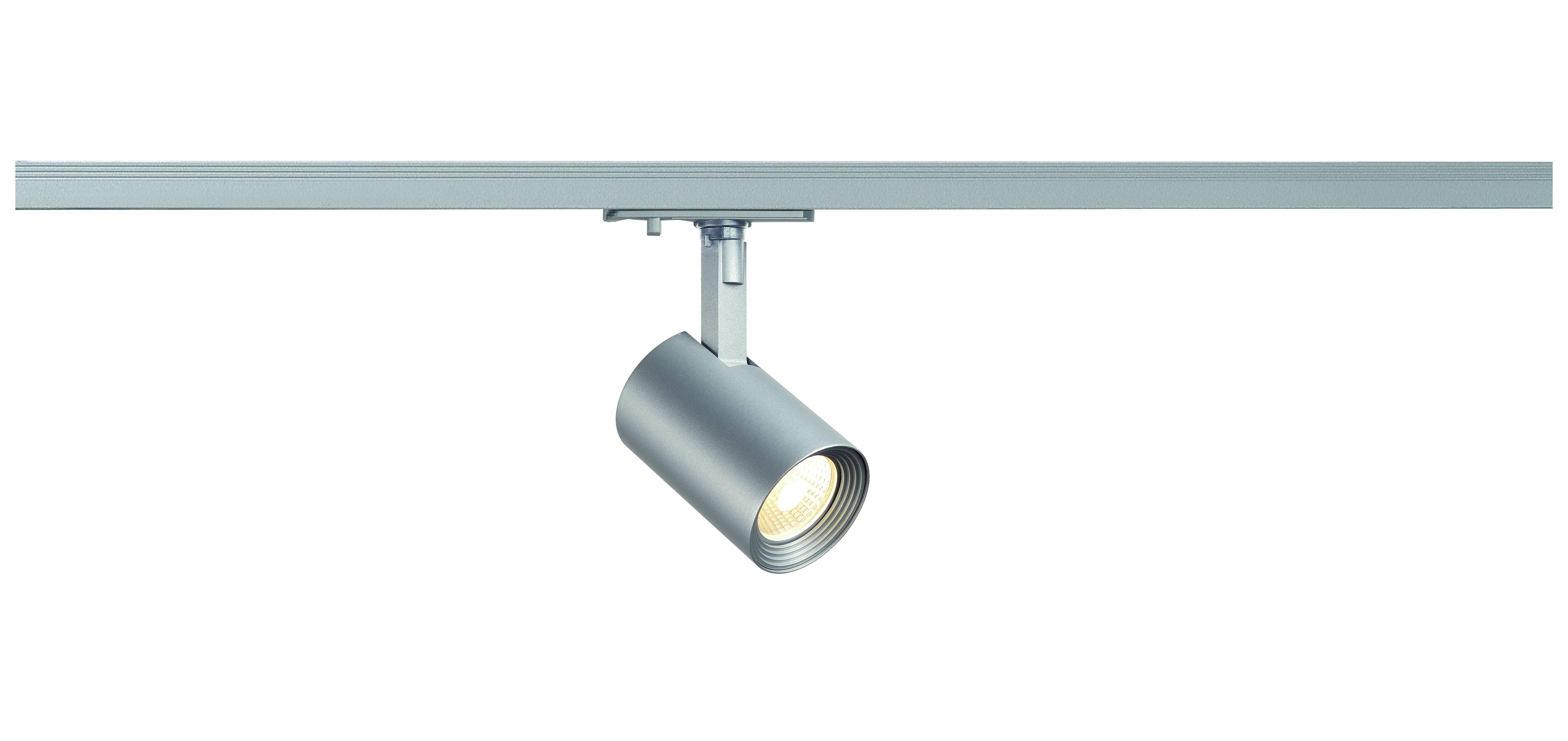 1 Stk Debasto LED Spot, 8W, 3000K, Ra=80, 360lm, rund, silbergrau LI143574--