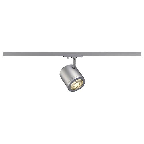 1 Stk ENOLA_C Spot LED, 9W, 3000K, 55°, inkl. Adapter, rund, grau LI143954--