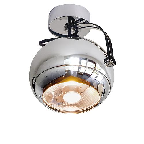 1 Stk LIGHT EYE Wand- & Deckenleuchte, GU10, max. 75W, chrom LI149042--