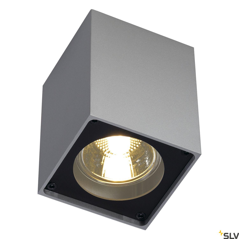 1 Stk ALTRA DICE CL-1 Deckenl., GU10, max. 35W, silbergrau/schwarz LI151514--