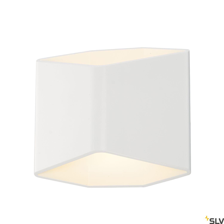 1 Stk CARISO,  LED Wandleuchte 2, 7,5W LED, 3000K, weiß LI151711--