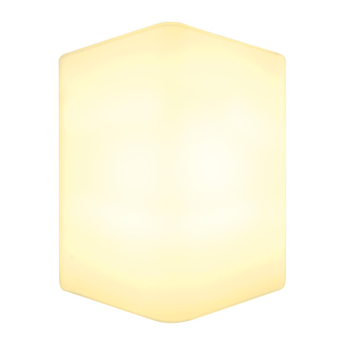 1 Stk CARISO, LED  Wandleuchte Glas, 7,5W LED, 3000K, weiß LI151722--