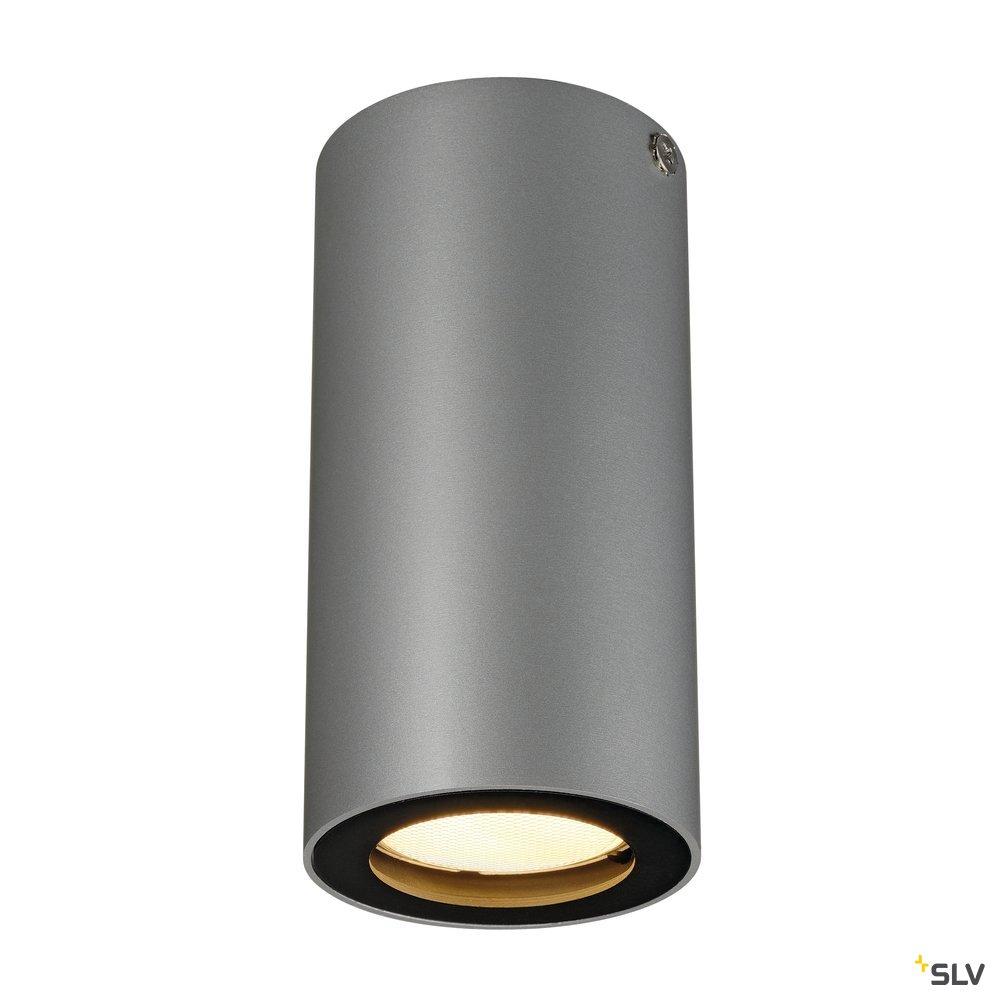 1 Stk ENOLA_B Deckenleuchte,CL-1, silbergrau/schwarz,GU10,max. 35W LI151814--