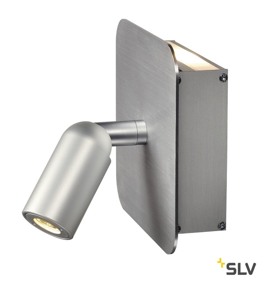 1 Stk NAPIA Wandleuchte, aluminium- gebürstet LI155104--