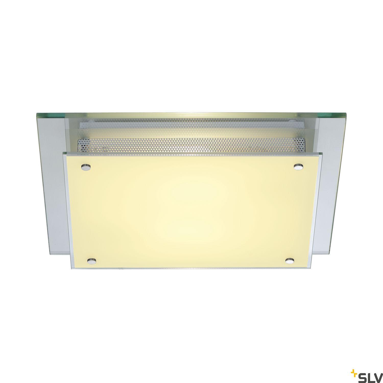 1 Stk GLASSA SQUARE Deckenleuchte E27, max. 2x60W LI155180--