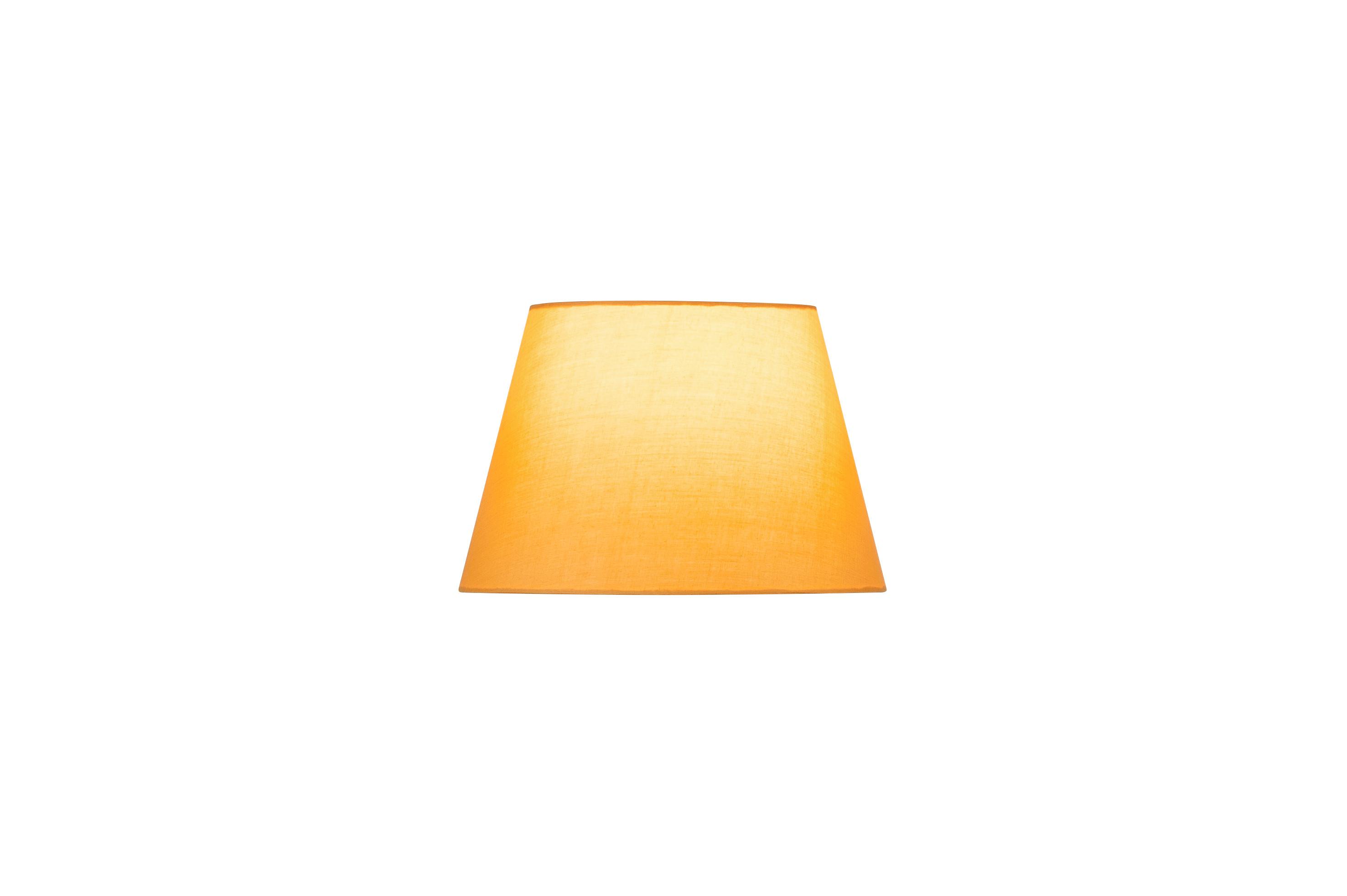 1 Stk FENDA, Leuchtenschirm, konisch, gelb, Ø/H 30/20 cm LI156164--