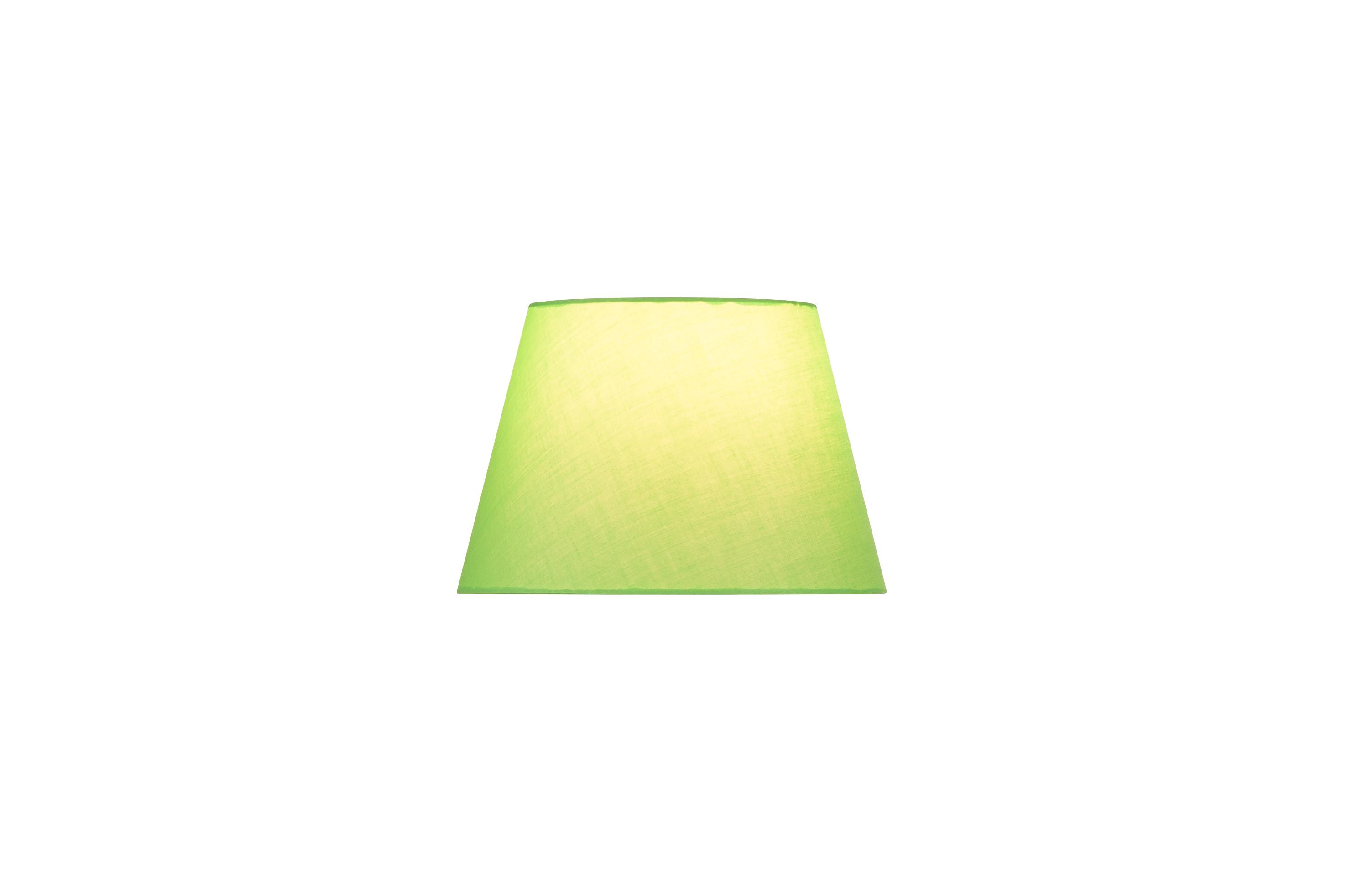 1 Stk FENDA, Leuchtenschirm, konisch, grün, Ø/H 30/20 cm LI156165--
