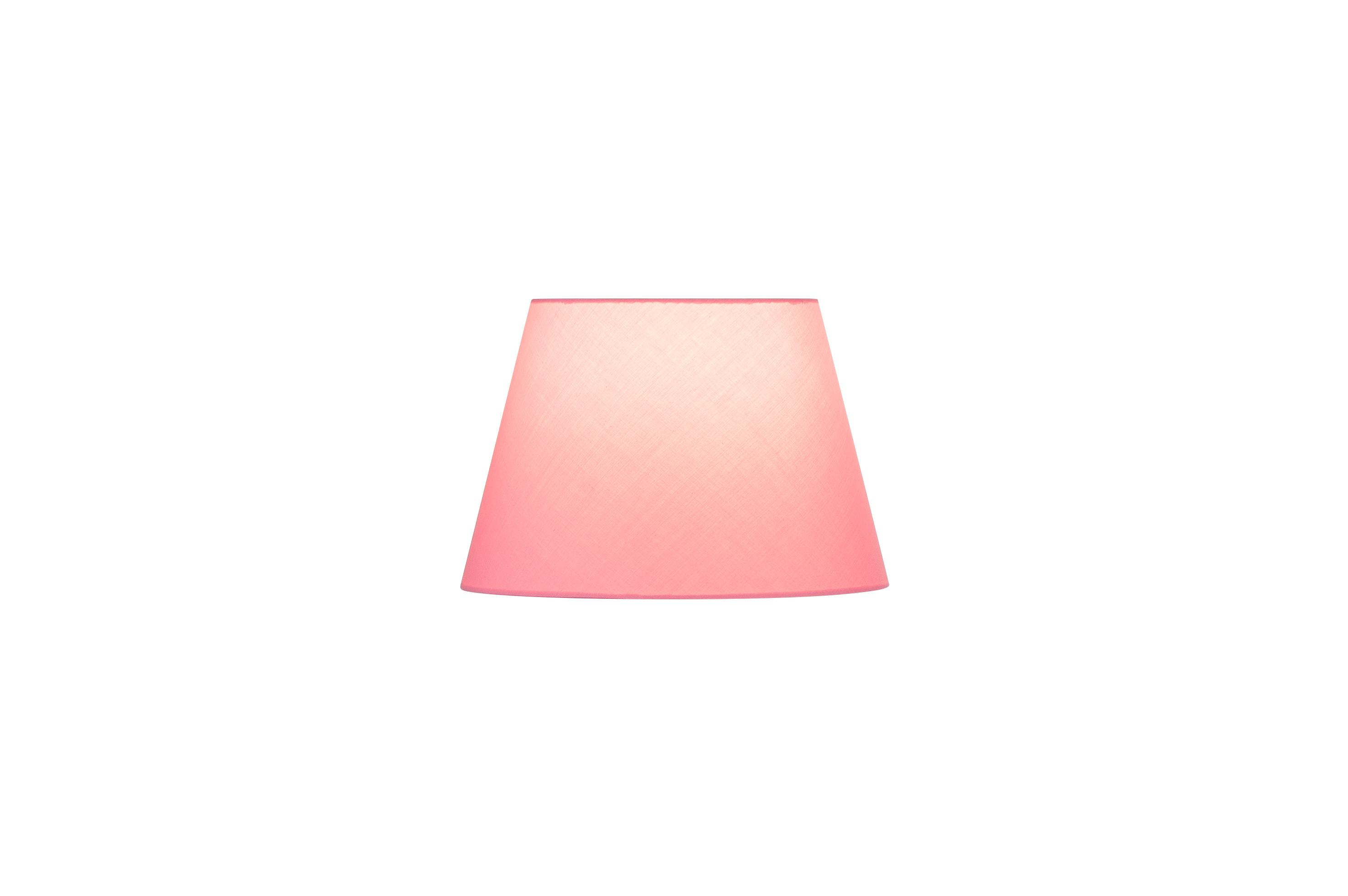1 Stk FENDA, Leuchtenschirm, konisch, pink, Ø/H 30/20 cm LI156169--