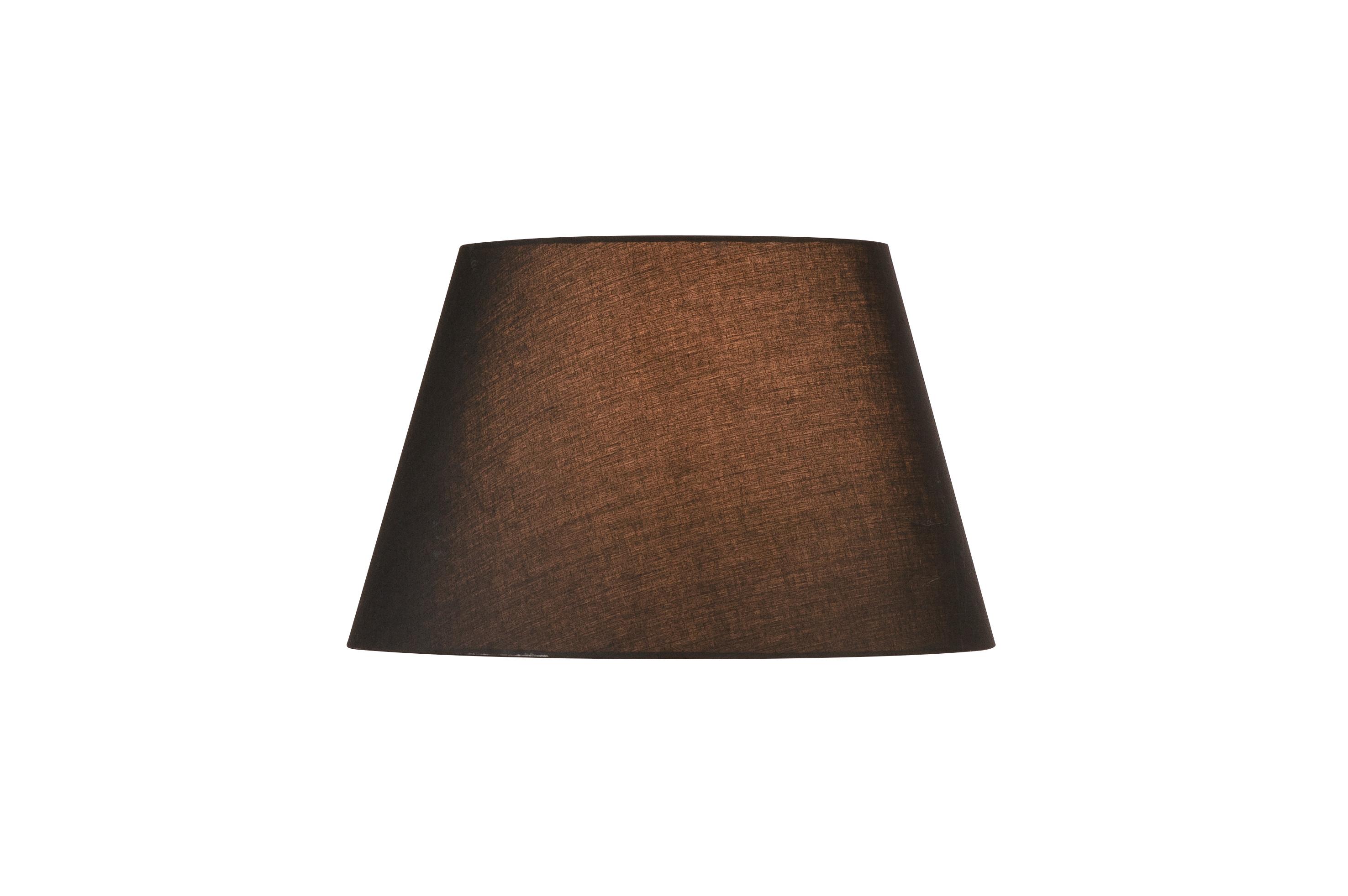1 Stk FENDA, Leuchtenschirm, konisch, schwarz, Ø/H 45,5/28 cm LI156180--