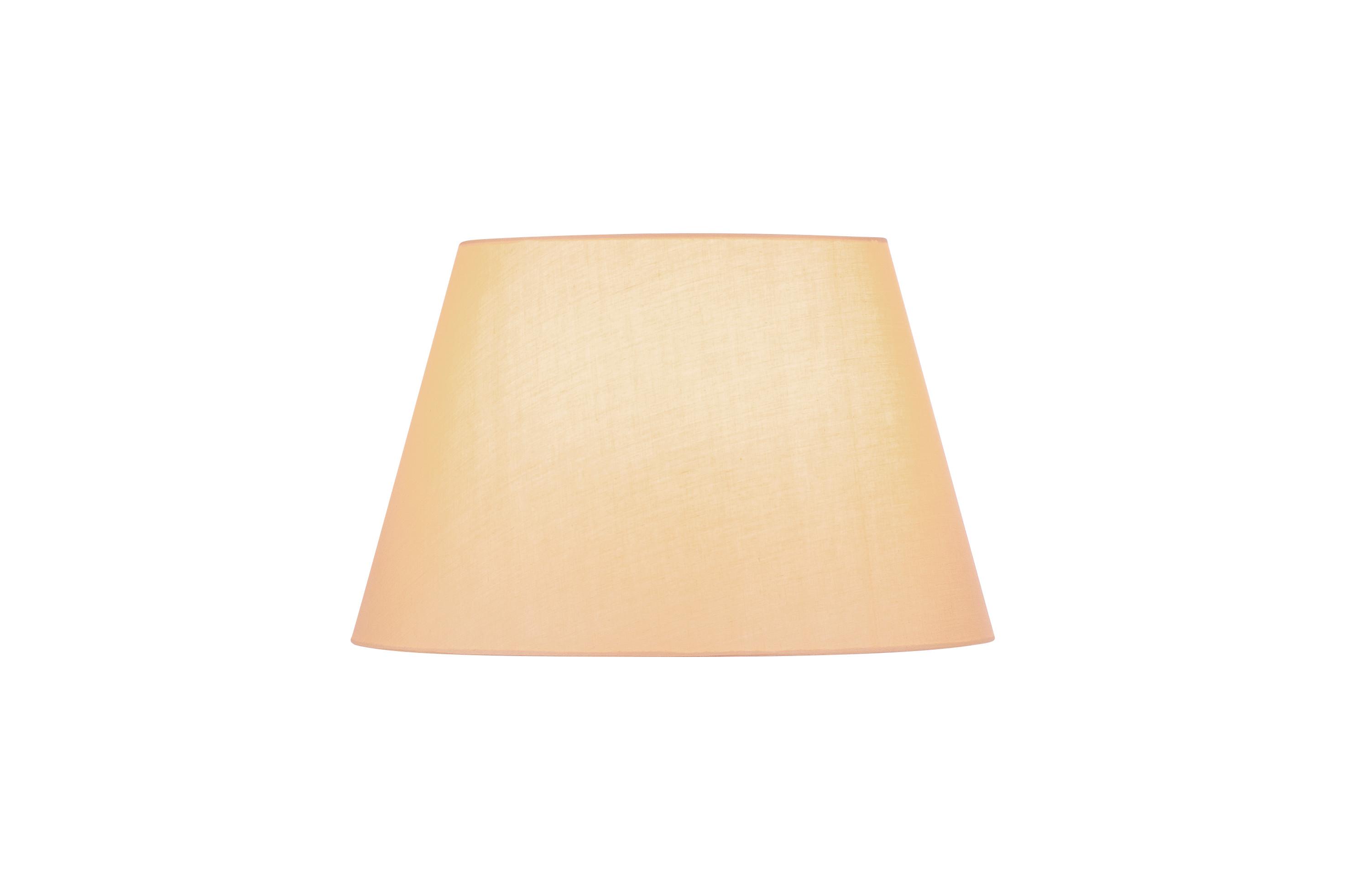 1 Stk FENDA, Leuchtenschirm, konisch, beige, Ø/H 45,5/28 cm LI156183--