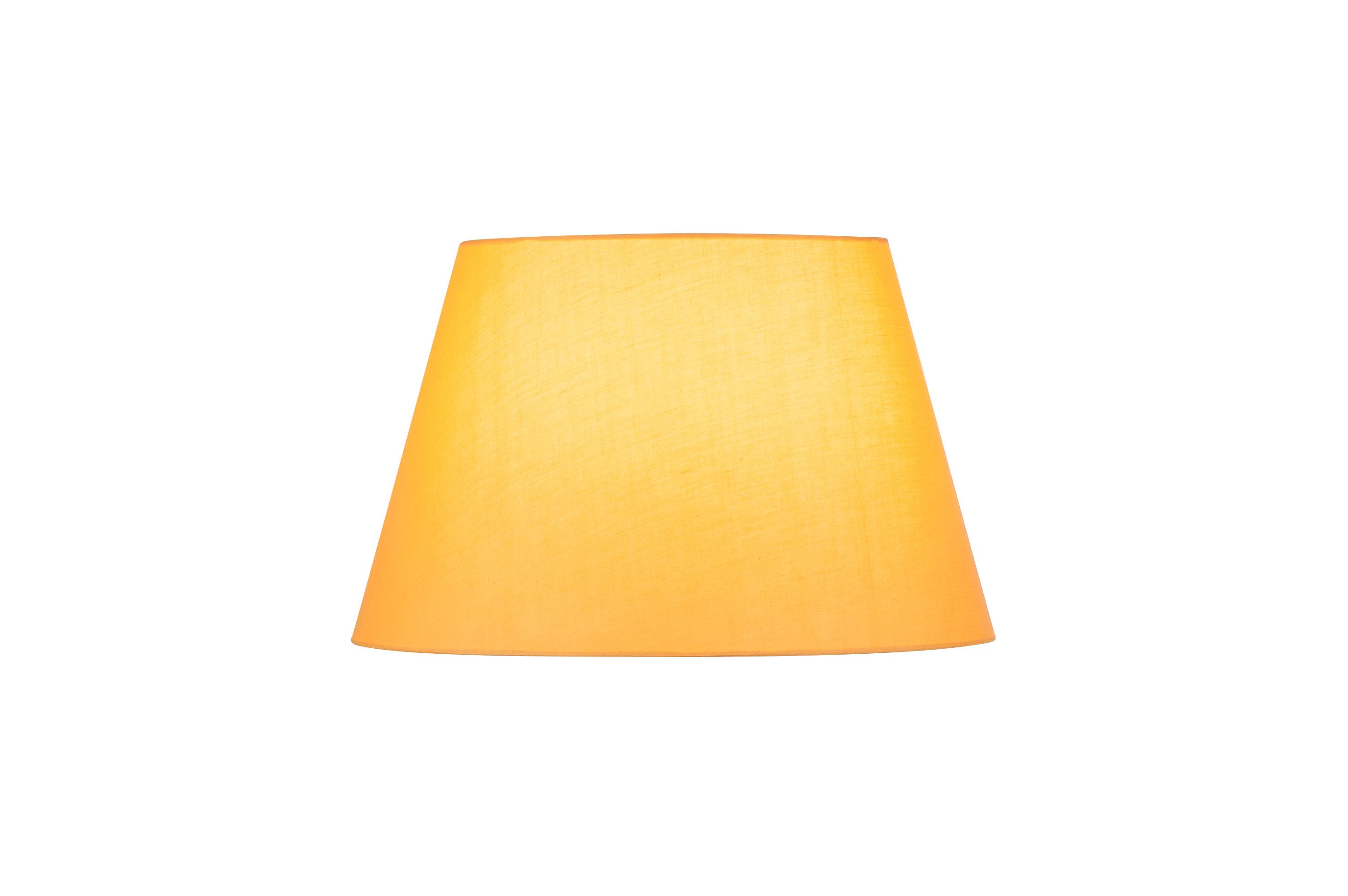 1 Stk FENDA, Leuchtenschirm, konisch, gelb, Ø/H 45,5/28 cm LI156184--
