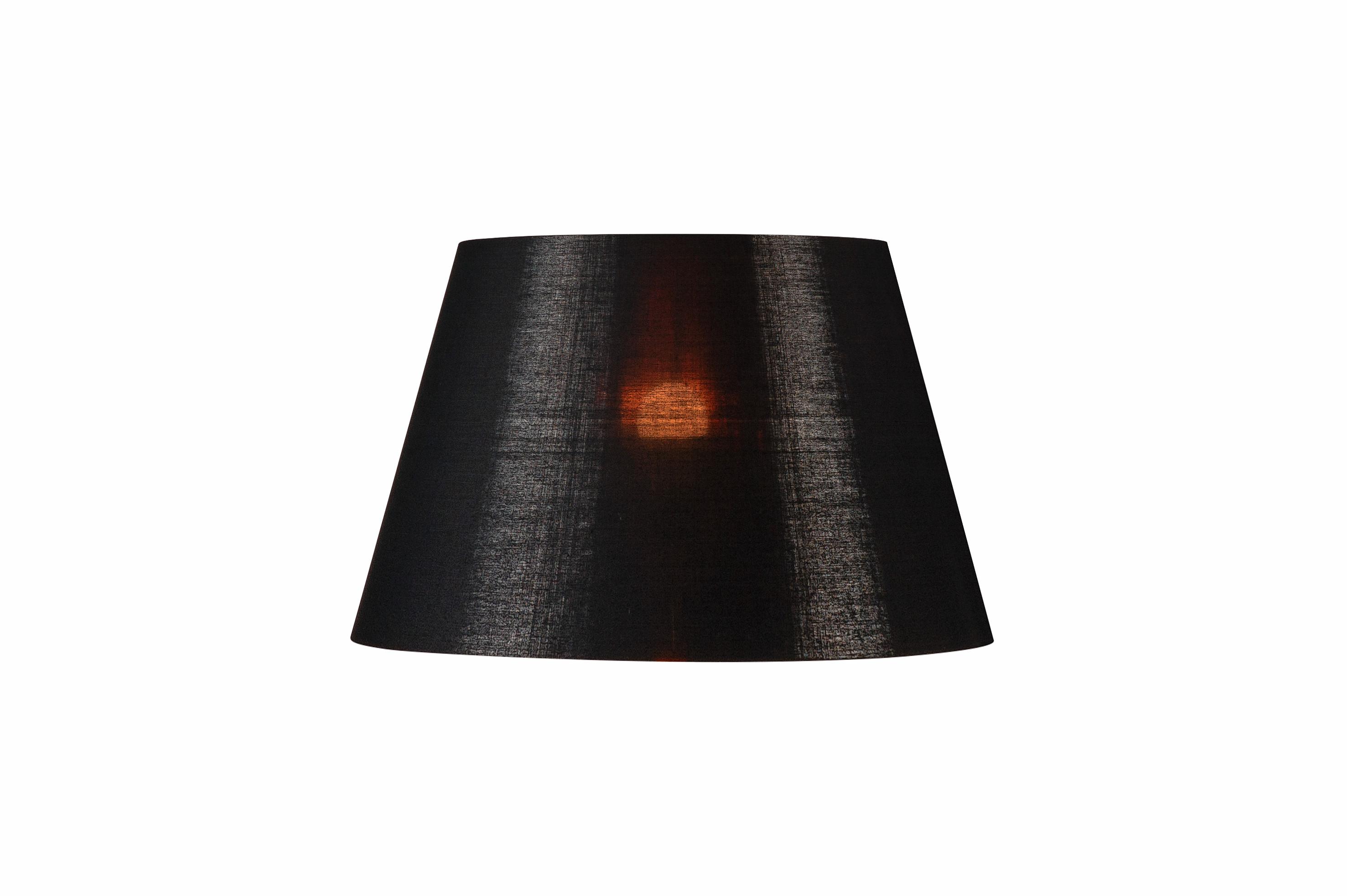 1 Stk FENDA, Leuchtenschirm, konisch, schwarz/kupfer LI156192--
