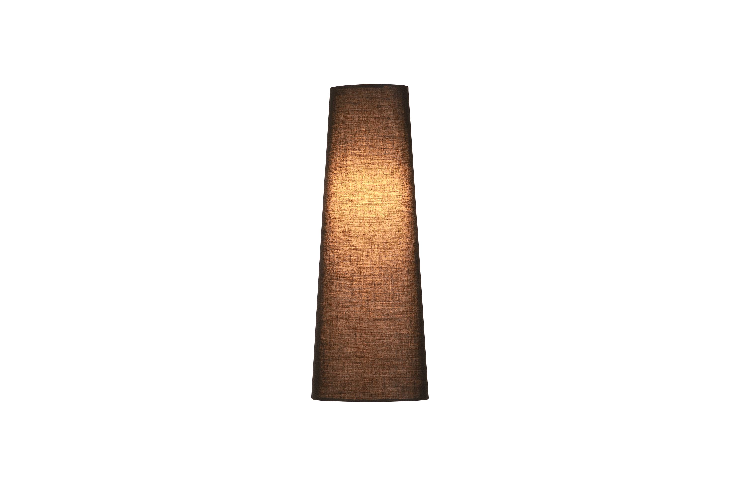1 Stk FENDA, Leuchtenschirm, konisch, schwarz, Ø/H 15/40 cm LI156200--