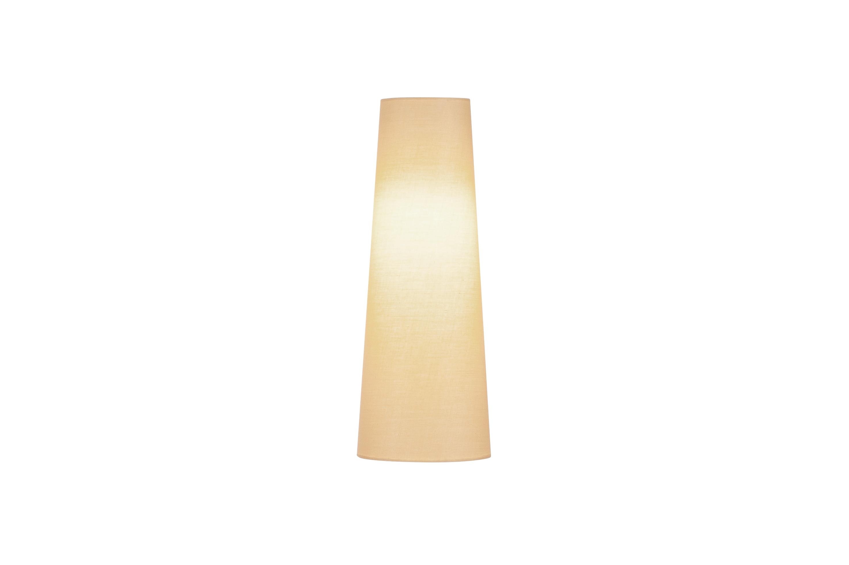 1 Stk FENDA, Leuchtenschirm, konisch, beige, Ø/H 15/40 cm LI156203--