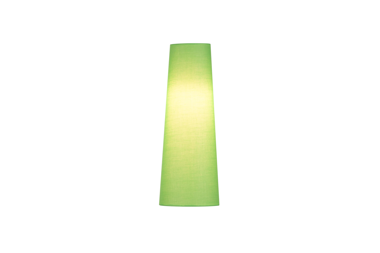 1 Stk FENDA, Leuchtenschirm, konisch, grün, Ø/H 15/40 cm LI156205--