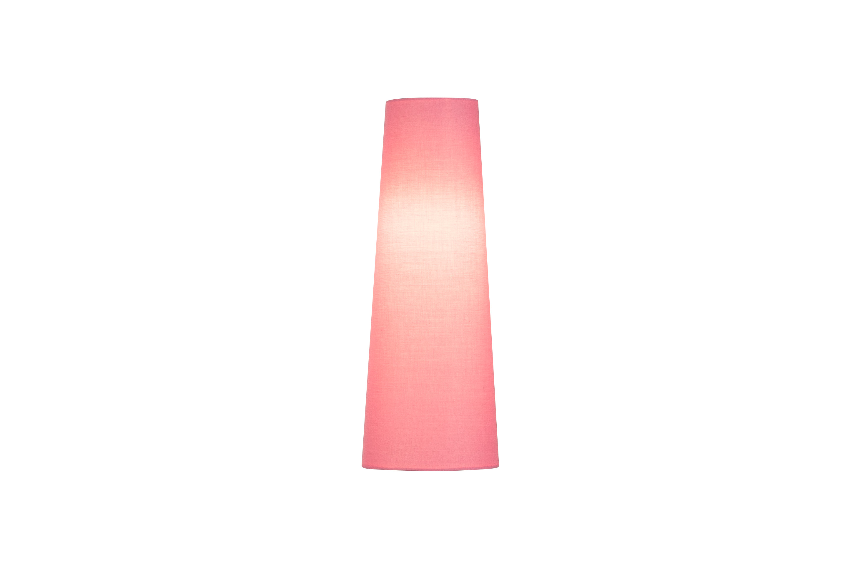 1 Stk FENDA, Leuchtenschirm, konisch, pink, Ø/H 15/40 cm LI156209--