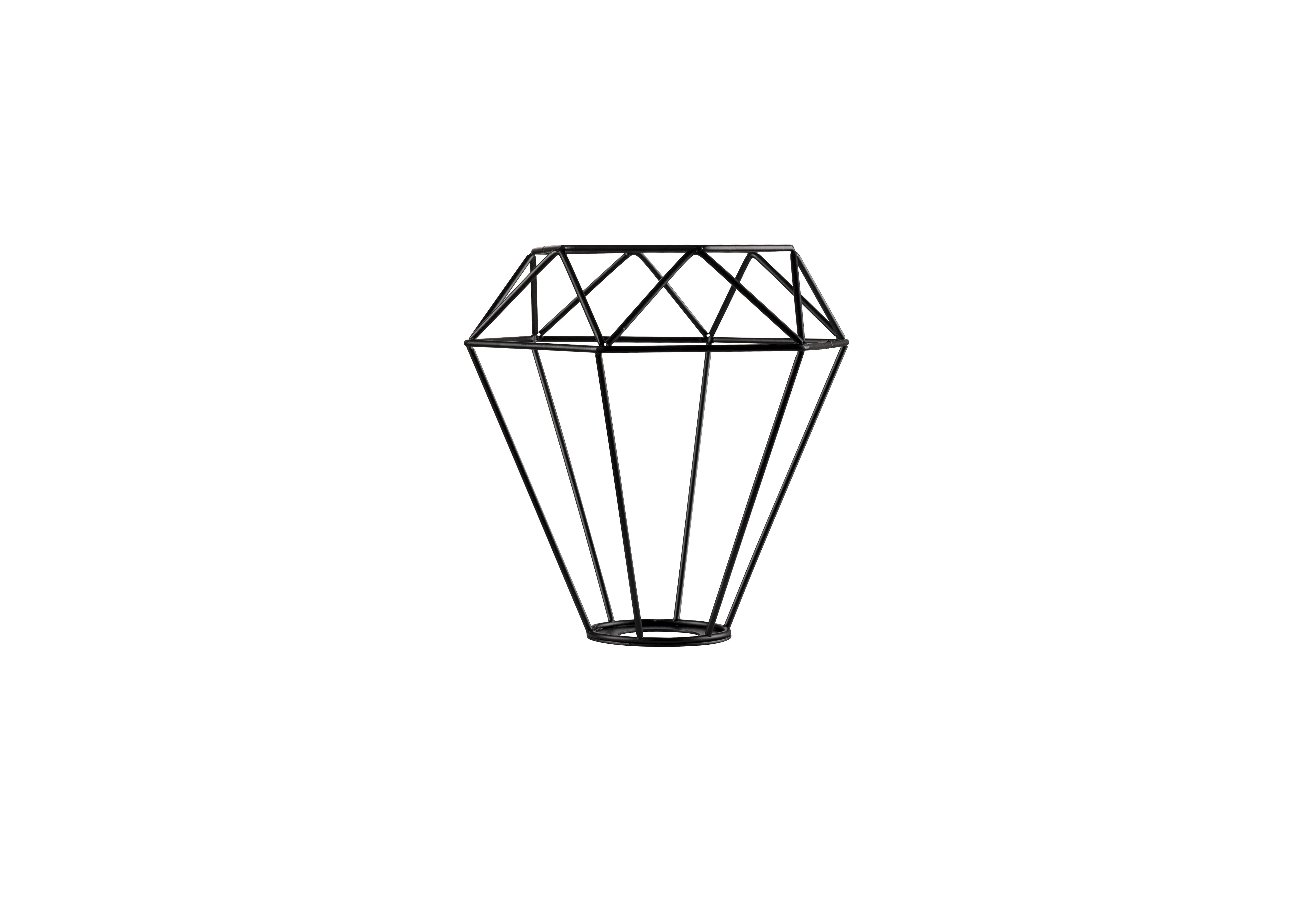 1 Stk FENDA, Leuchtenschirm, Gitterschirm, L/B/H 20,5/18/20,5 cm LI156950--
