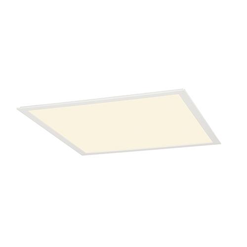 1 Stk LED PANEL Deckeneinbauleuchte, 40W, 3000K, 595x595mm, weiß LI158603--