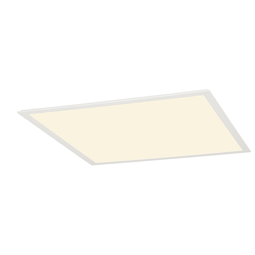 1 Stk LED PANEL Deckeneinbauleuchte, 40W, 3000K, 620x620mm, weiß LI158613--