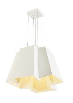 1 Stk SOBERBIA 53 Pendelleuchte, LED, 2700K, eckig, weiß LI165471--
