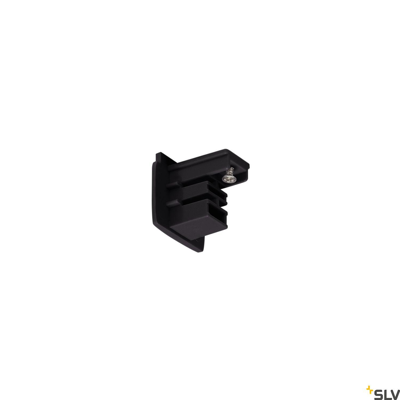 1 Stk Endkappe für 3P.-Schiene schwarz LI175060--
