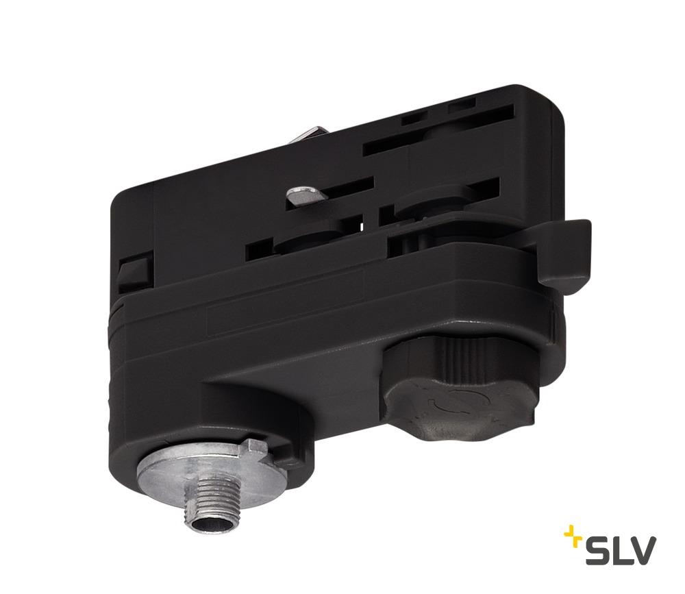 1 Stk 3P.-Adapter für 3P.-Schiene, schwarz LI175200--