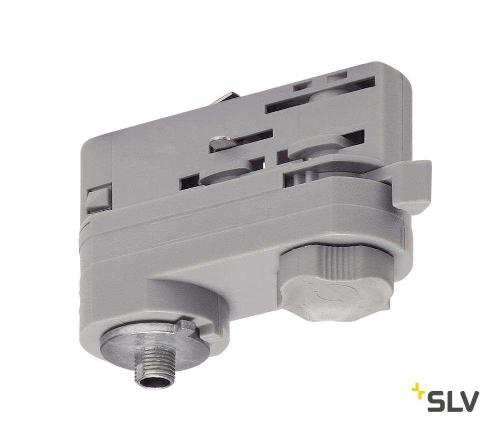 1 Stk 3P.-Adapter für 3P.-Schiene, silbergrau LI175204--