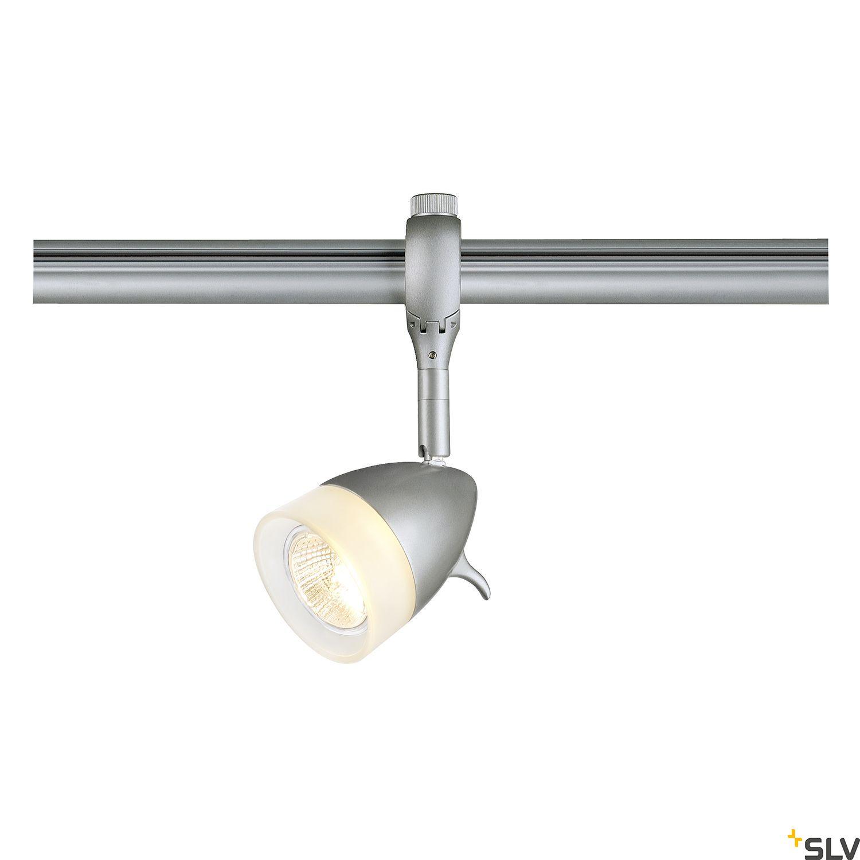 1 Stk KANO GU10 Lampenkopf für EASYTEC II, max. 50W, silbergrau LI184071--