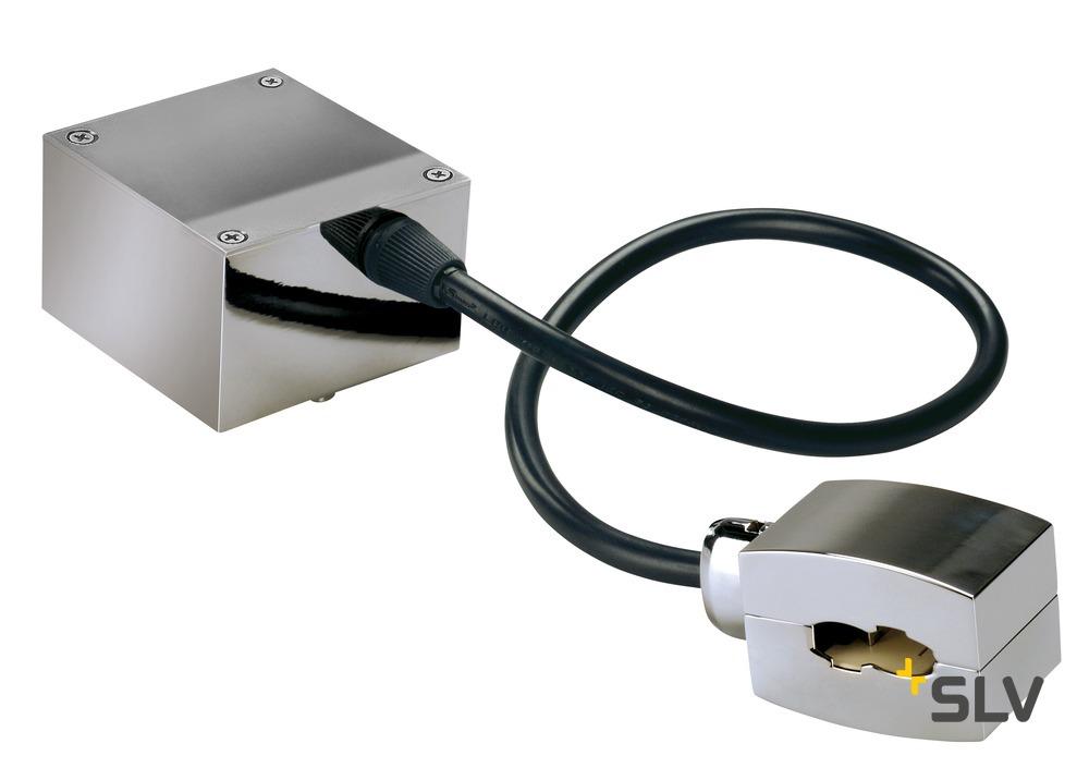 1 Stk Einspeiser für EASYTEC II, Kabellänge: 40cm, chrom LI185002--