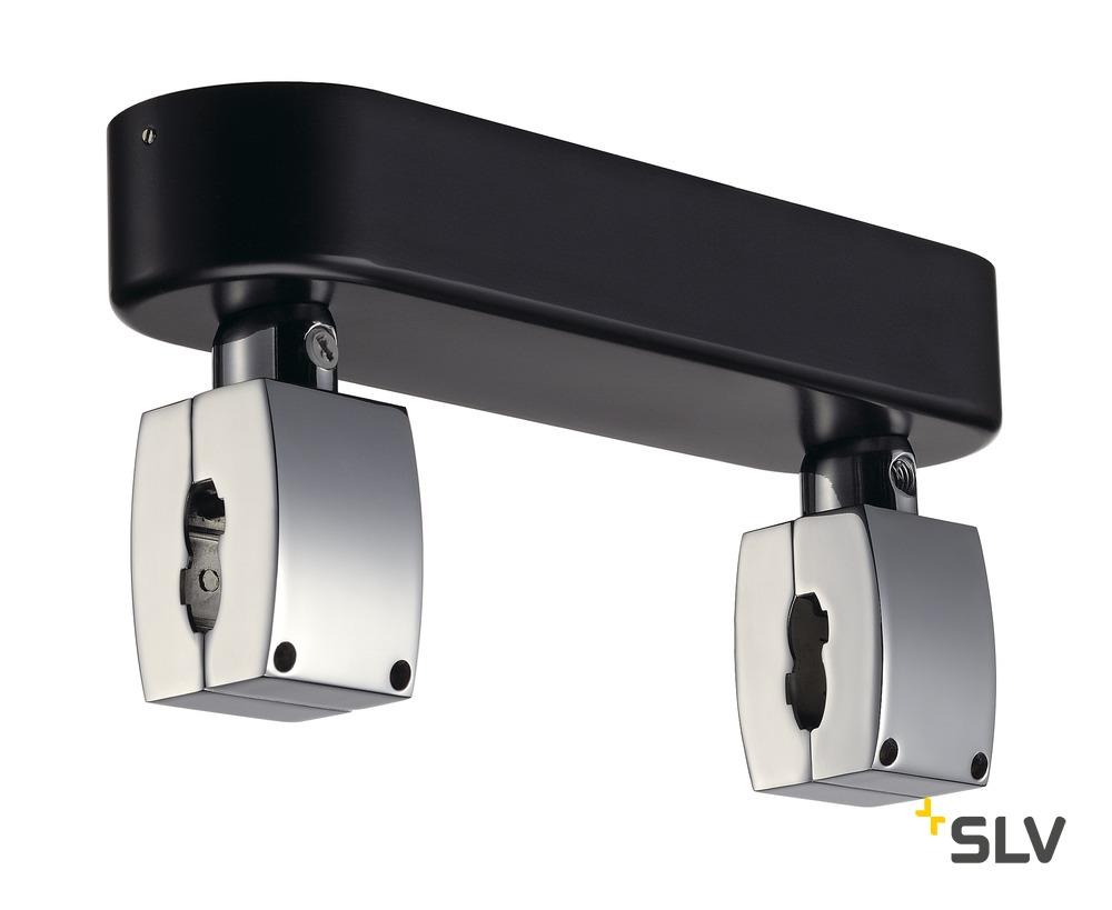 1 Stk SHORTBOX Einspeiser für EASYTEC II, chrom/schwarz LI185012--