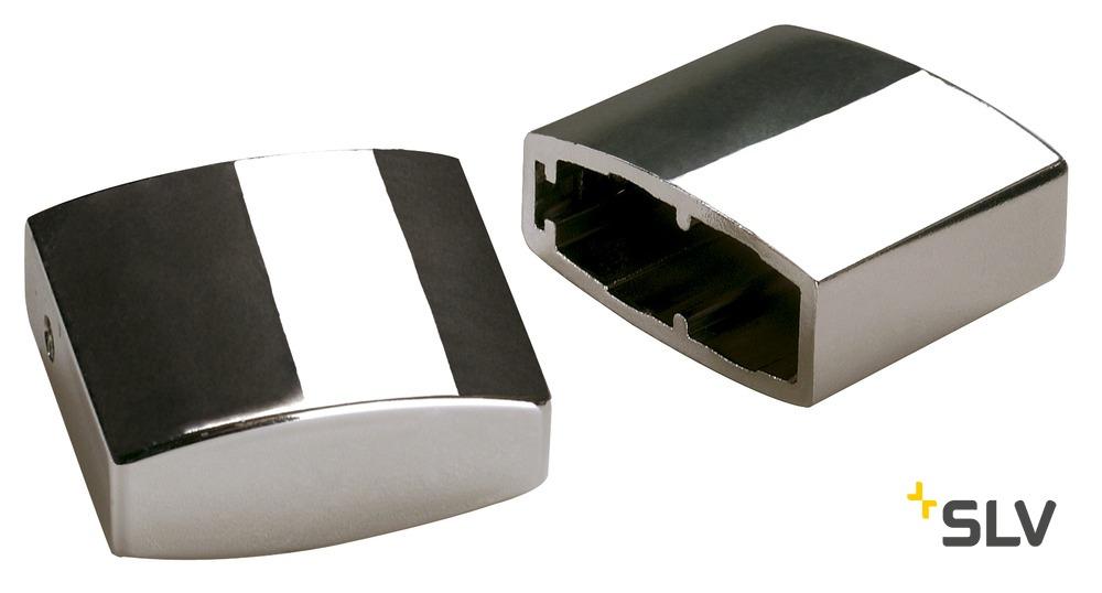 1 Stk Endkappe für EASYTEC II, 2 Stk., chrom LI185142--