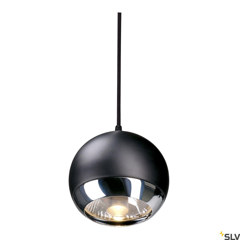 1 Stk LIGHT EYE PENDEL f EASYTEC II, GU10, max. 75W, chrom/schwarz LI185590--