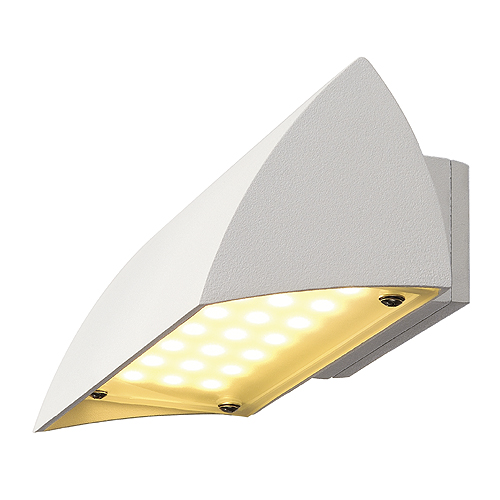 1 Stk NOVA LED WALL OUT Wandleuchte, 4,2W, 3000K, IP44, weiß LI227051--