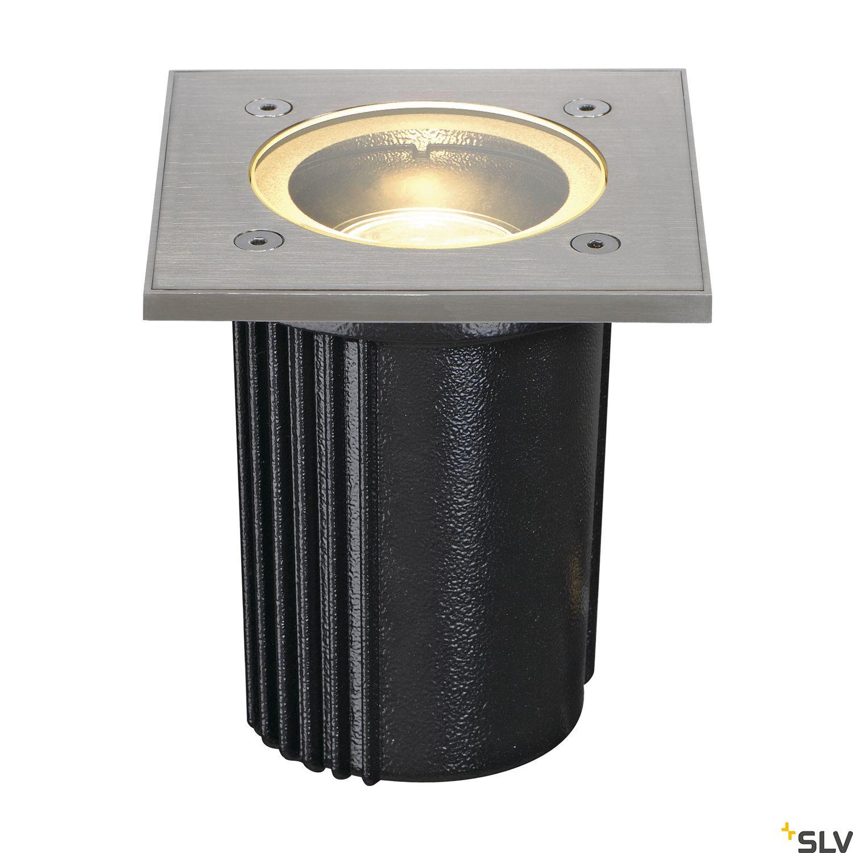 1 Stk DASAR EXACT GU10 Einbauleuchte max.35W IP67 eckig, edelstahl LI228434--