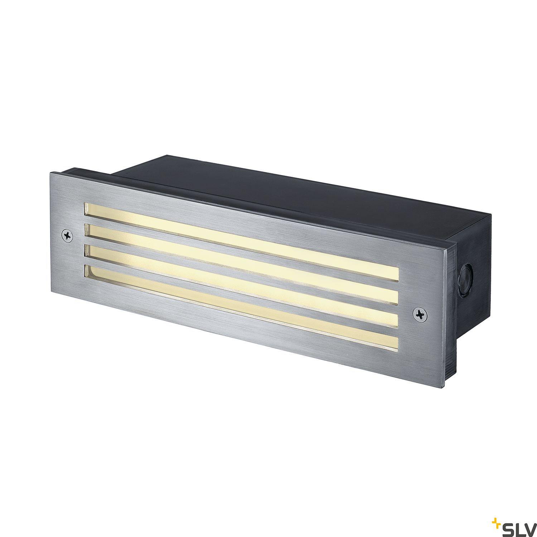 1 Stk BRICK MESH LED Wandeinbauleuchte, 4W, 3000K, IP54, Edelstahl LI229110--
