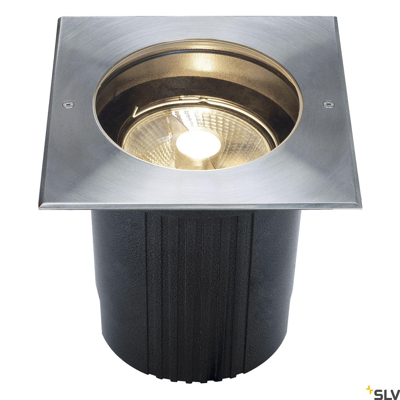 1 Stk DASAR ES111 Einbauleuchte max.75W, IP67, eckig, Edelstahl316 LI229234--