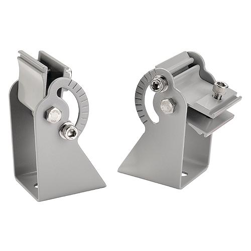 1 Stk Wandhalter für VANO, kurz, 2 Stück, silbergrau LI229402--
