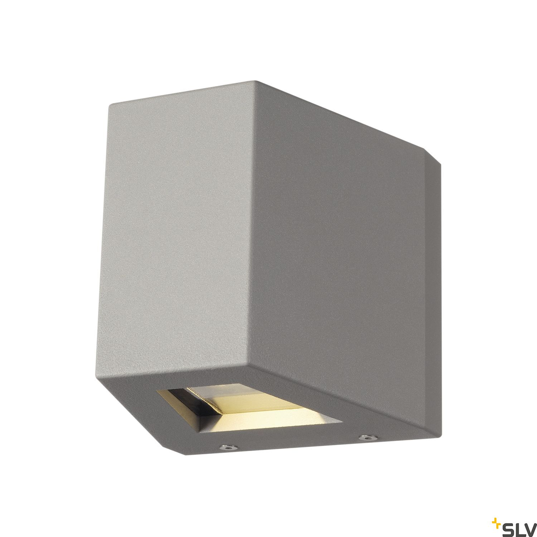 1 Stk OUT BEAM LED Wandleuchte, silbergrau LI229664--